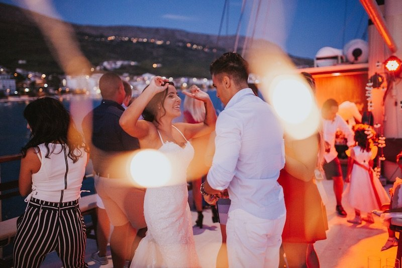 Best wedding party boat in Split